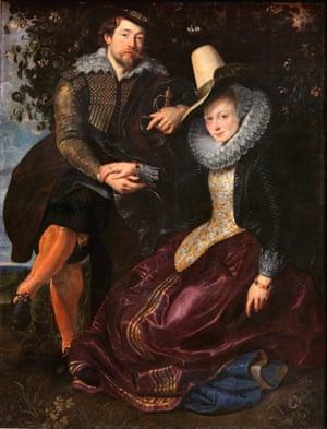 The Honeysuckle Bower, by Peter Paul Rubens.
