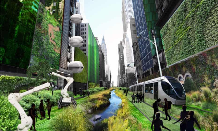 Terreform One New York Smart City Street