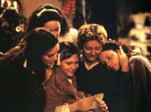 Winona Ryder, Trini Alvarado, Kirsten Dunst, Susan Sarandon and Claire Danes in Gilliam Armstrong's 1994 adaptation.