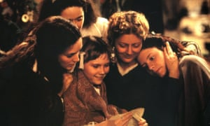 Susan Sarandon and her brood in Little Women