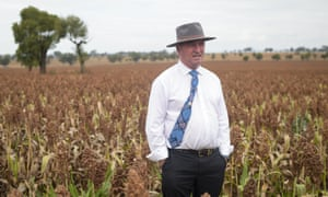 Deputy prime minister Barnaby Joyce, who has announced he is to step down as Nationals leader.