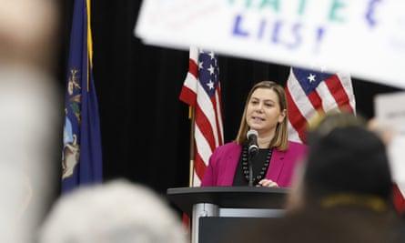 Representative Elissa Slotkin said Monday she will vote to impeach Donald Trump.
