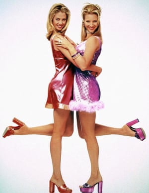 Mira Sorvino and Lisa Kudrow in Romy and Michele's High School Reunion.