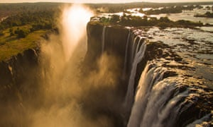Victoria Falls is a location in Murder on the Safari Star.