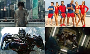 Ghost In The Shell, Baywatch, Life and Transformers: The Last Knight.