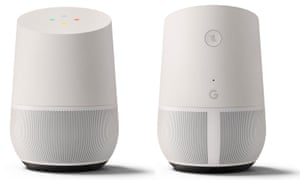 Google Home's device: lagging behind Amazon in sales.
