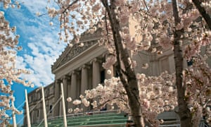 Exterior of the Brooklyn Museum, which will be home to an exhibition of feminist art called Radical Women: Latin American Art, 1960-1985 on 13 April.