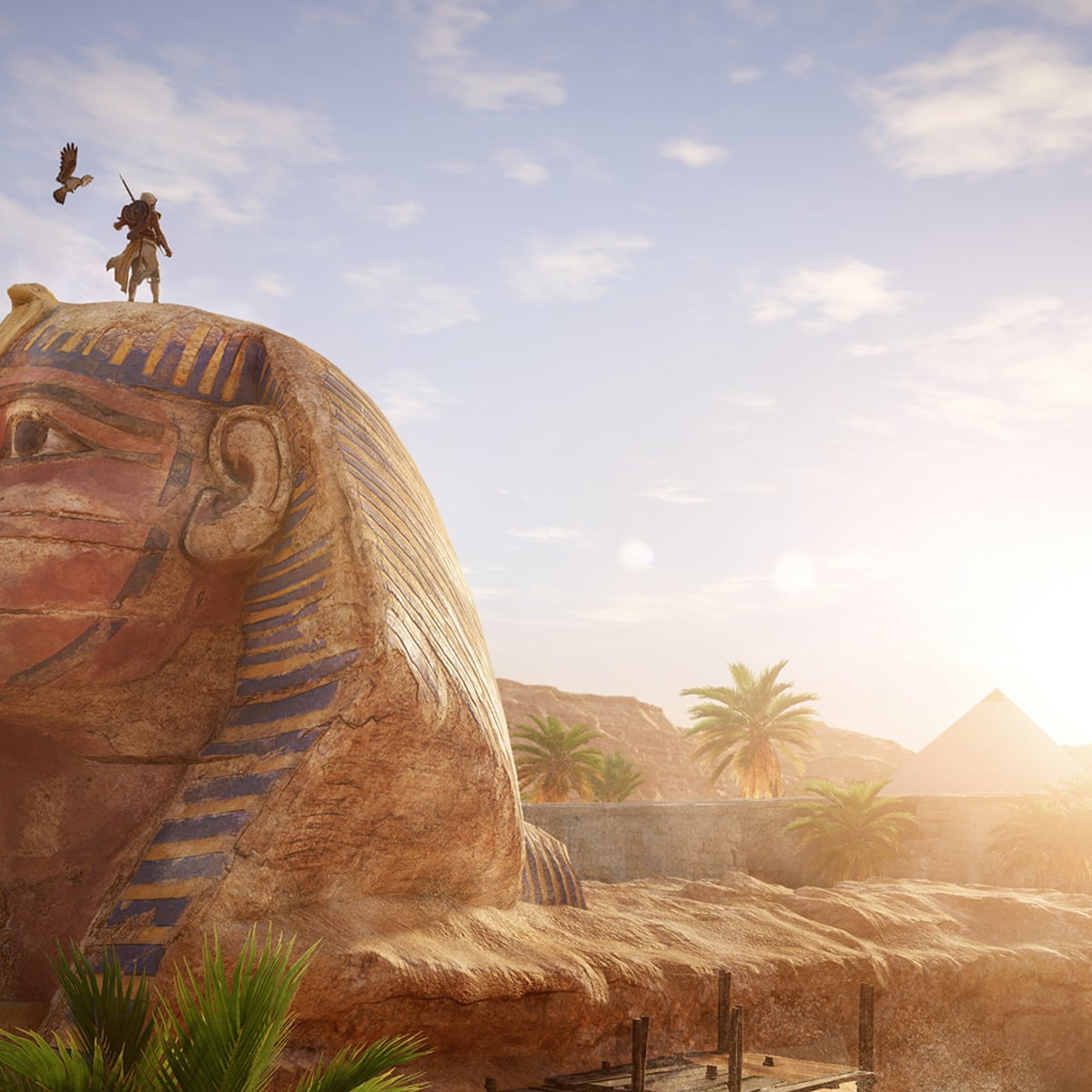 Assassin S Creed Origins How Ubisoft Painstakingly Recreated Ancient Egypt Games The Guardian