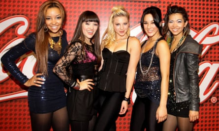 Tinashe on the left as one-fifth of the Stunners