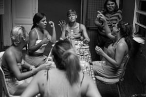 Lunchtime at El Gondolín. Once a family run hotel in central Buenos Aires, El Gondolín is now a self-managed squat and a crucial refuge for trans women