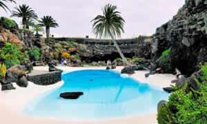 Jameos del Agua, designed by the local artist Cesar Manrique on Lanzarote.