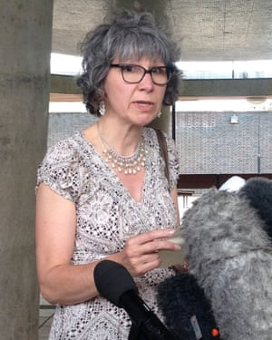 Fiona Parry, mother of Ella, after the inquest into her daughter's death from taking eight unlicensed tablets containing dinitrophenol (DNP), which she bought on-line.