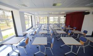 Empty exam room