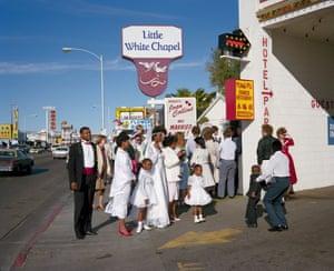 Little White Chapel, Valentine's Day, Las Vegas, 1987