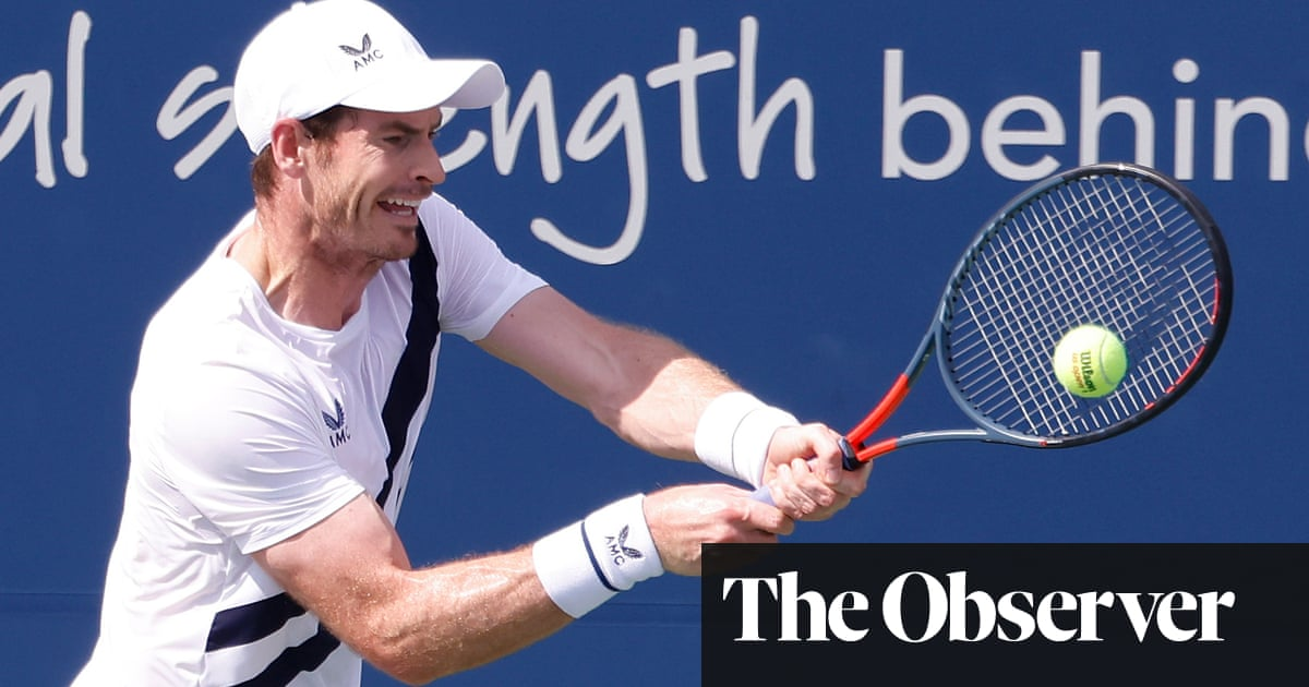 Andy Murray beats Frances Tiafoe on return after nine months away