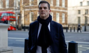 the UK's chief Brexit negotiator Olly Robbins