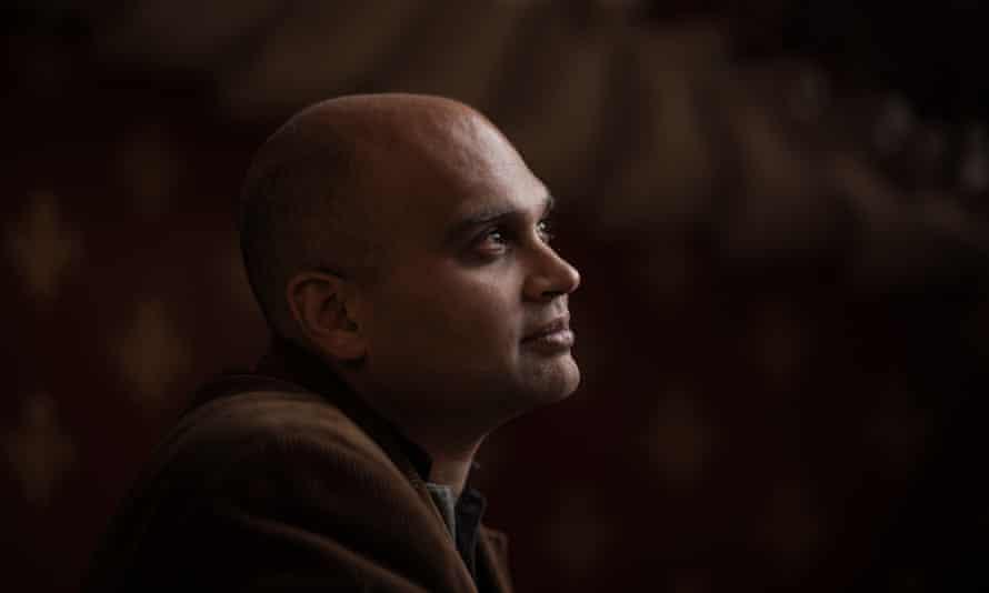 Novelist Aravind Adiga.