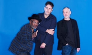 The Specials (left to right, Lynval Golding, Terry Hall and Horace Panter).