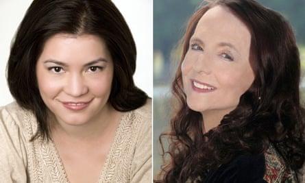 Courtney Milan, left and Kathryn Lynn Davis.