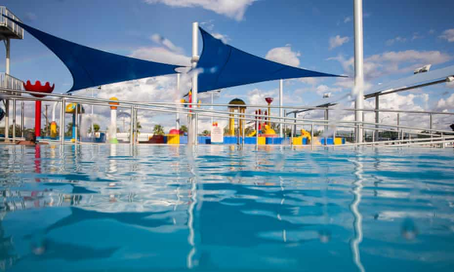 Moree Artesian Aquatic Centre, which is the council owned public swimming pool, in Moree NSW.