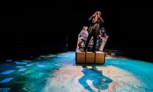 Andrew Pollard as Phileas Fogg in Around the World in 80 Days.