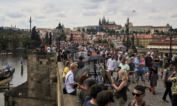 The fall of Prague: 'Drunk tourists are acting like they've conquered our  city' | World news | The Guardian