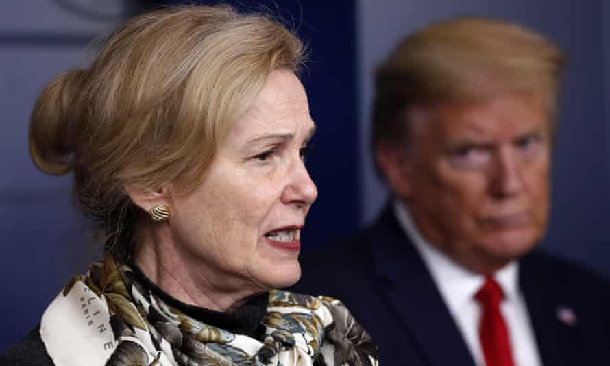 Deborah Birx, who was the White House's coronavirus taskforce coordinator, has taken a job in the private sector.