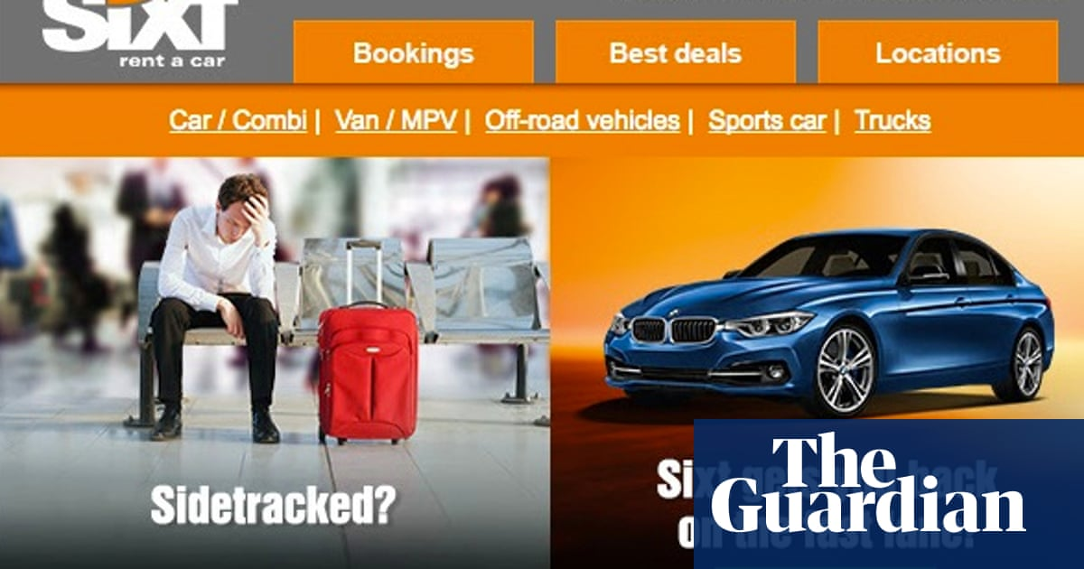 Sixt Took Me For A Ride Over Car Hire Cover Money The Guardian