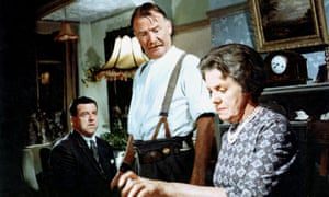A kitchen-sink realist feel … from left, John Comer, John Mills and Marjorie Rhodes in The Family Way.