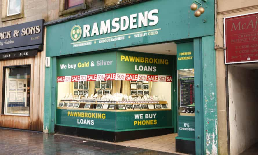 A pawnbrokers