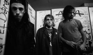 Nirvana while on tour in Germany in 1991
