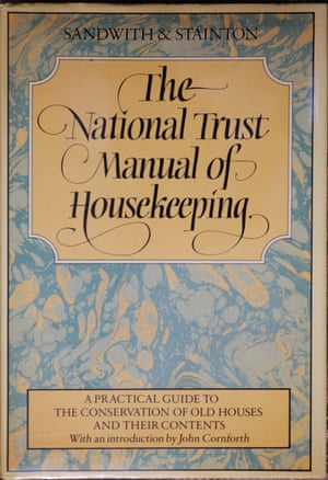 The National Trust Manual of Housekeeping, by Sheila Stainton and Hermione Sandwith, was first published in 1984