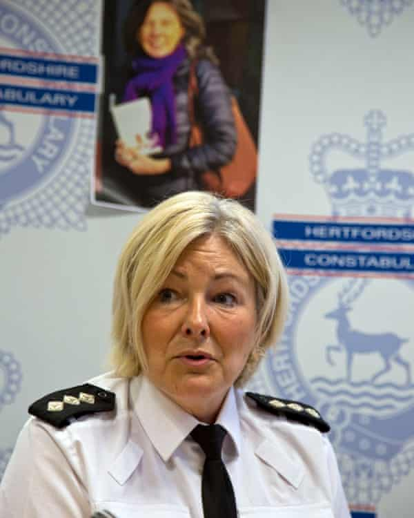 CI Julie Wheatley at Hitchin police station.