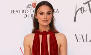 Keira Knightley at the La Traviata premiere in Rome earlier this month.