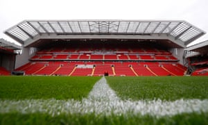 Carillion's projects have included the redevelopment of the main stand at Anfield in Liverpool