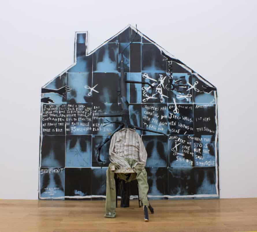 Donald Rodney's The House That Jack Built, 1987.