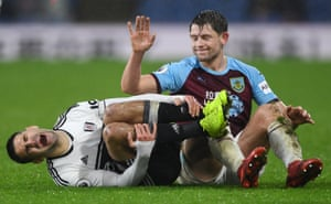 James Tarkowski apologises after challenging Fulham's Aleksandar Mitrovic as Burnley win 2-1 at Turf Moor. Burnley have collected nine points from their last three Premier League games, one more than they managed from their previous 13 matches in the competition.