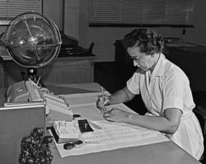 Katherine Johnson, Nasa space scientist and mathematician. 'My colleagues and I were committed to the work. We found different ways to deal with the segregation.'