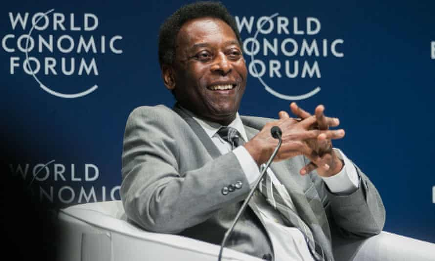 Pelé is in hospital after surgery.