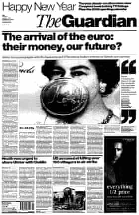 Guardian front page 1 Jan 2002