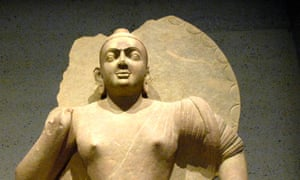 Seated Buddha from the Mathuran region of northern India