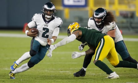 Jalen Hurts faces an uphill task to get the Eagles to the playoffs
