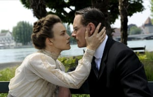 Knightley in A Dangerous Method