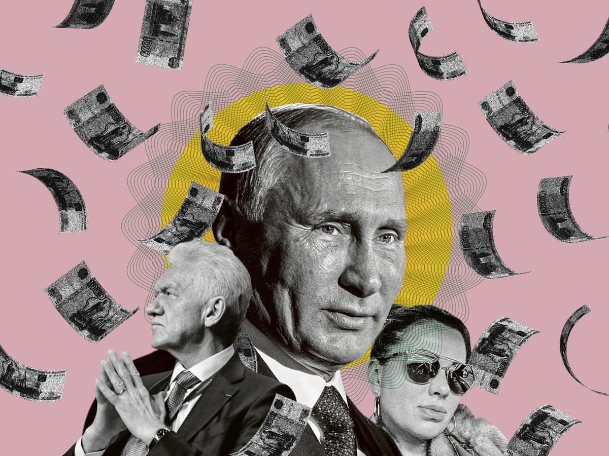 Pandora papers reveal hidden riches of Putin's inner circle | Vladimir Putin  | The Guardian