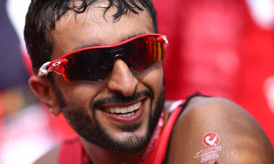 Prince Nasser Bin Hamad al-Khalifa was previously accused of leading a crackdown on athletes who took part in protests against Bahrain's rulers in April 2011
