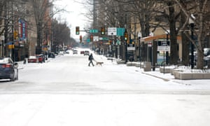 Fort Worth, Texas, where winter storm Uri has brought historic cold weather and power outages
