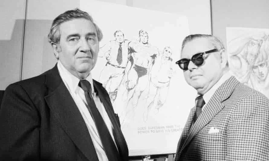 Superman creators Jerry Siegel and Joe Shuster were bilked of the large rewards their creations brought their publishers.
