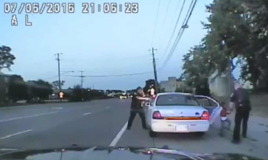 Police car footage of the incident.