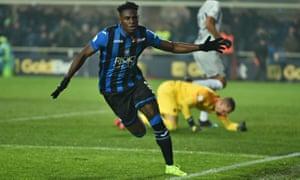 Duván Zapata has been a revelation since Gian Piero Gasperini tweaked his role within the Atalanta side.