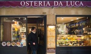 The Osteria da Luca in Venice